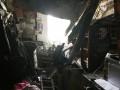 В Житомире в доме обвалился потолок, хозяйка чудом спаслась