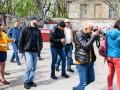 Нардепа Найема в Одессе облили нечистотами и забросали фалоиммитаторами