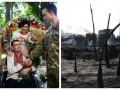 День в фото: свадьба солдата и