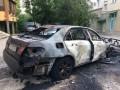 На Закарпатье сожгли авто бывшего вице-мэра Ужгорода