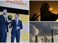 День в фото: золотой мяч Ярмоленко, молитва мусульманок и Гагарин в дыму