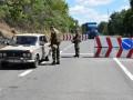 В Донецкой области полиция обстреляла авто, прорывавшееся через блокпост