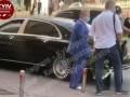 На видео показали, как в Киеве на нарушении поймали народного артиста