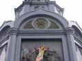 Голую грудь на памятнике Владимиру полиция сочла хулиганством