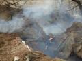 Военные показали фото с места гибели волонтера на Донбассе
