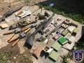 На Закарпатье разоблачили канал сбыта оружия и боеприпасов