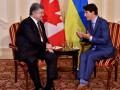Порошенко попросил Канаду делиться данными о РФ