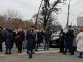 В Киеве перекрыли проспект из-за отсутствия отопления