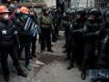 В Киеве скупают каски и продукты