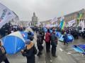 Протестующие намерены ночевать на Майдане