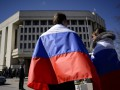 В Севастополе съезд оккупантов сорвали измененным гимном РФ