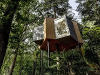В Дании открыли первый отельный номер на дереве