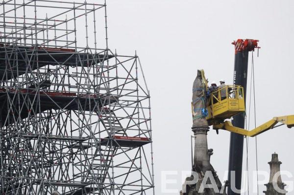 Архитектор назвал стоимость восстановления Нотр-Дама