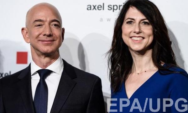 Джефф Безос, основавший Amazon является богатейшим человеком в мире