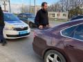 В Харькове копы после погони поймали пьяного водителя-священника