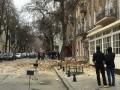 В центре Одессы обрушился фасад 100-летнего здания