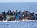 У берегов Ливии затонуло судно с нелегальными мигрантами, есть жертвы