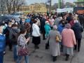 Сегодня акцию протеста устроили рабочие Харьковского авиазавода