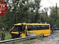 Под Киевом в ДТП с автобусом Нацгвардии погиб военный