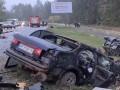 Пьяное ДТП под Киевом: столкнулись три авто, пятеро пострадавших