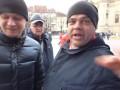 В Праге русские напали на украинскую акцию