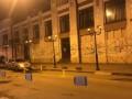 В Одессе вандалы разрисовали стену драмтеатра