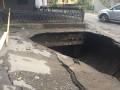На Закарпатье паводковая волна разрушила мост
