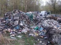 Львовский мусор нашли в Чернобыльской зоне