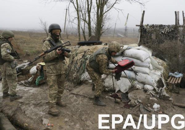 Боевики обстреляли позиции ВСУ вблизи Авдеевки изтанка иминометов
