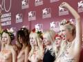 Грудью на кино: FEMEN разделись на Венецианском кинофестивале (ФОТО)