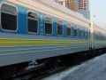 В Запорожье из Киева запускают поезд из украинских вагонов-трансформеров