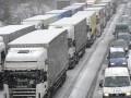 Снегопад парализовал киевские дороги