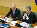Момент для частичного обновления Кабмина упущен: Порошенко предложил Яценюку уйти