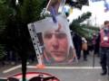 Активисты Евромайдана подарили Клюеву и Ахметову