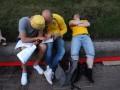 На территории фан-зоны в Киеве усилены меры безопасности