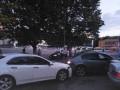 Под Одессой пьяный киевлянин влетел в стоянку