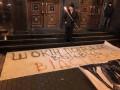 В Киеве прошло факельное шествие в связи с годовщиной разгона Майдана