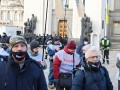 Под Радой предприниматели протестуют против карантина