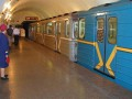 Cегодня в Киеве поезд метро не остановился на станции