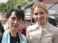 Дочь Тимошенко встретилась с лауреатом Нобелевской премии мира