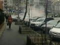 В Киеве улицу Эспланадную залило кипятком