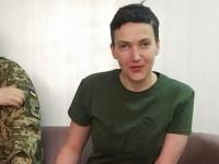 Появилось фото Надежды Савченко после 42 дней голодовки