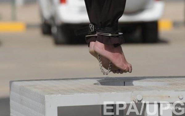 Смертная казнь в Иране