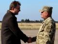 Британская делегация во главе с госсекретарем по обороне посетила ООС