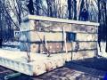 На въезде в Киев построили еще один укрепленный блокпост