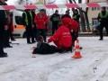 В Хмельницком полицейские застрелили мужчину, нападавшего с заточкой на прохожих