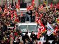 Во Франции протесты против пенсионной реформы. Транспорт не работает