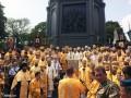 Как в Киеве прошел крестный ход верующих Киевского патриархата