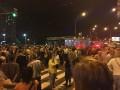 Киевляне вышли на протест против строительства у метро Героев Днепра