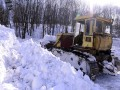 Вооруженные силы выделили на борьбу со снегопадами 46 человек и 20 единиц техники
